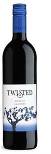 Twisted Wine Cellars Merlot 2011 750ml -...